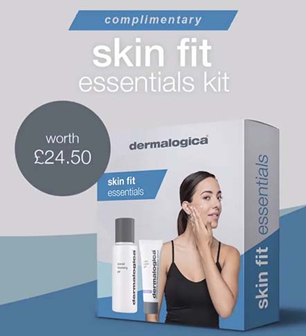 Buy 2 Dermalogica products and get this skin fit essential kit worth £24 FREE